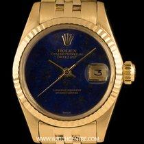 Rolex 18k Y/G Rare Lapis Lazuli DialVintageDatejust Ladies 6917