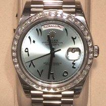 "Rolex Day-Date 40  ""Arabic Numerals"" Diamond bezel"