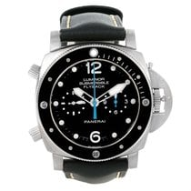 Panerai Submersible 1950 3 Days Flyback  PAM 615  Neu