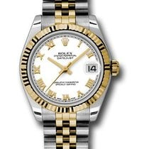 Rolex Unworn 178273 Datejust Midsize 2-Tone in Steel With...
