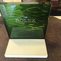 Rolex Watch Window Display green 6