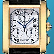 "Cartier ""Tank Francaise Chronograph"" Strapwatch."