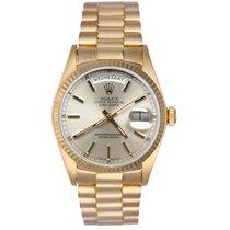 Rolex President Day-Date Men's 18k Yellow Gold Watch 18038...