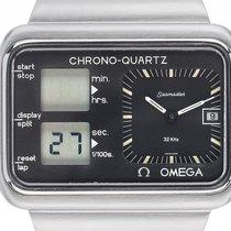 Omega Seamaster Albatros Chrono-Quartz Olympia Montreal Stahl...
