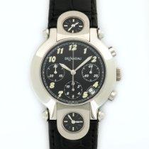 DeLaneau 3-Time Zone Automatic Chronograph Watch