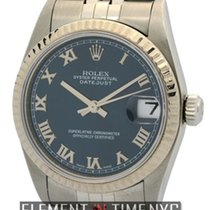 Rolex Datejust Mid-Size Stainless Steel Blue Roman Dial Circa...