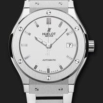 Hublot Classic Fusion Titanium Opalin Bracelet 45 mm