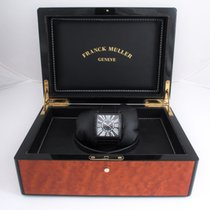 Franck Muller Master Square with black diamonds