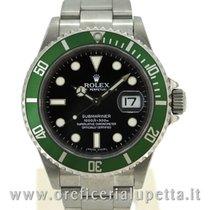 Rolex Submariner Ghiera Verde Green Bezel 16610LV