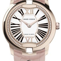 Roger Dubuis Velvet 36mm Rose Gold Automatic White Dial T