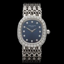 Patek Philippe Ellipse 18k White Gold Ladies 4764G - W3291