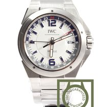 IWC Ingenieur Dual Time 43mm White Dial NEW