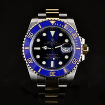 Rolex Submariner Ceramic Bezel 18K/Steel Two Tone Mint Condition