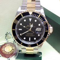 Rolex Submariner Date 16613 - Unworn Engraved Rehaut 2009