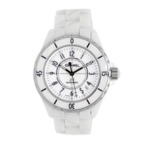 Chanel J12 White Ceramic Automatic   Watch
