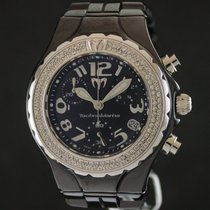Technomarine Technodiamond Chrono Ceramique Black Dial