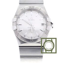 Omega Constellation Co-Axial 35mm Silver Dial Full Steel NEW
