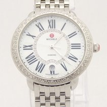 Michele Serein 16 Diamond & MOP Dial Ladies Watch MW21B01A...