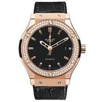Hublot Classic Fusion Rose Gold Diamonds Watch