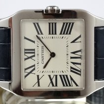 Cartier Santos Dumont Or Blanc Grand modèle 2014