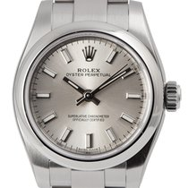 Rolex Oyster Perpetual 26 Steel Silver/Index 176200