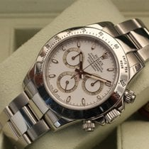 Rolex Daytona 116520 D 2006 box papers white dial