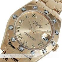 ロレックス (Rolex) Pearlmaster Gelbgold 81318