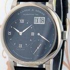 A. Lange & Söhne 101.027 Lange 1, White Gold, Blue Dial