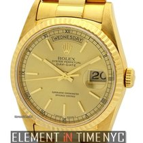 Ρολεξ (Rolex) Day-Date 36mm President 18k Yellow Gold Champagn...