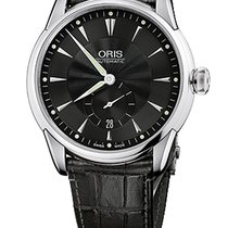 Oris Artelier Small Second, Date Black Dial