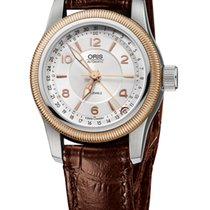 Oris Big Crown Pointer Date 30mm Case, Rose Gold, Leather