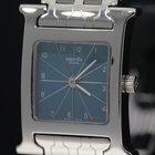 Hermès H blue dial