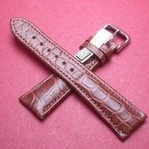 Louisiana Krokodil-Leder-Armband 22mm im Verlauf auf 18mm...