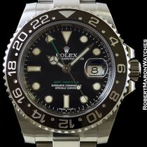 Rolex 116710 Gmt Master II Black Ceramic Steel New Box &...