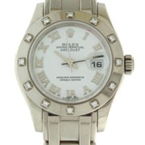 Rolex Lady 80319 White Gold Diamond Pearlmaster Masterpiece