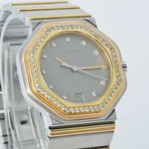 Wempe 5th Avenue Stahl/Gold bicolor 56 Brillanten 34 mm
