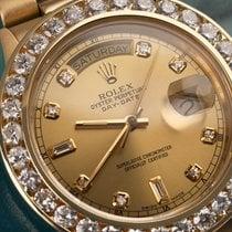 Rolex Presidential Rolex 18038 Single Quickset 18k Yellow Gold...