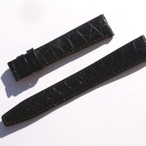 Zenith Croco Band Strap Black 17 Mm 73/113 New Z17-10