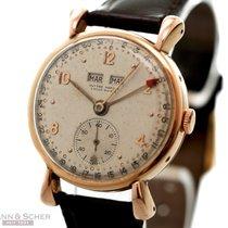 Ulysse Nardin Vintage Locle-Suisse Calender Watch 18k Rose...