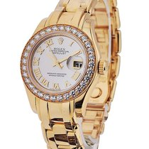 Rolex Unworn 80298 Masterpiece Ladies in Yellow Gold with Full...