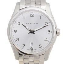 Hamilton 爵士系列 Stainless Steel Silvery White Quartz H38511153