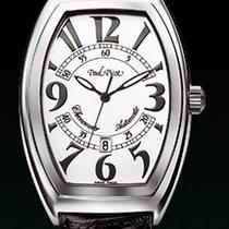 Paul Picot FIRSHIRE classic dial white strap skin black...