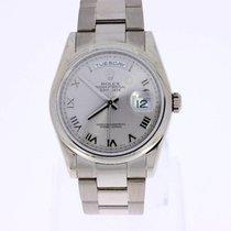 Rolex Day-Date 36 18K Weissgold 118209