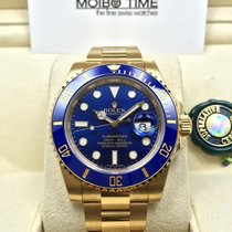 Rolex 116618LB Blue 18K Yellow Gold Ceramic Submariner Date