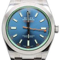Rolex latest model Milgauss steel 116400
