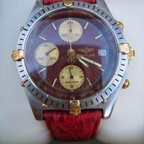 Breitling Chronomat Stahl/Goldreiter, seltene Ausführung