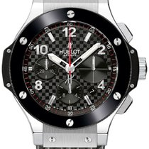 Hublot Big Bang Steel 44mm 301.sb.131.rx Rubber Black Carbon...