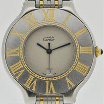 까르띠에 (Cartier) Must 21 Stahl/Gold