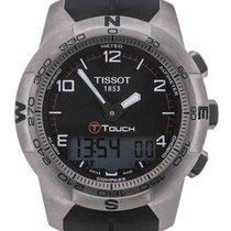 Tissot T-Touch II Rubber Black Dial 43 Titan