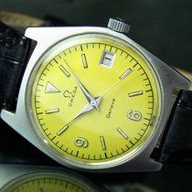 Omega Genève Winding Quick Date Steel Mens Watch